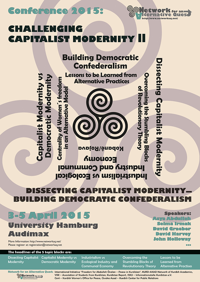 Challenging Capitalist Modernity: Poster