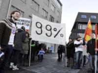Protest on Iceland