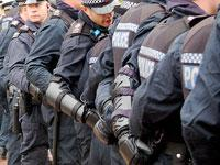 Police at Climate Camp