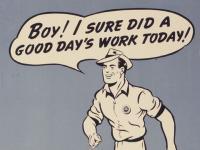 A good work ethic...