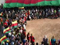 PVD Funeral in Kurdish Syria