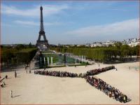 Paris mobilizations 350.org