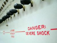 Severe shock image for Milgram article part 1