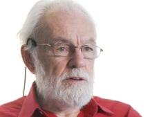 Picture of David Harvey taken from Guardian video