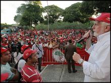 MST demo in Brazil