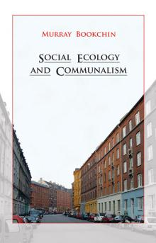 """Social Ecology and Communalism"" front cover"