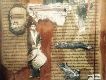 Adam Krause made a collage about the Civil War in American memory