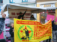 Demonstration for TATORT Kurdistan in Berlin