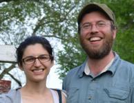 Stephanie and Marcus Amargi smiling