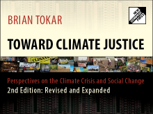 Banner for Tokar's 2014 Toward Climate Justice Book